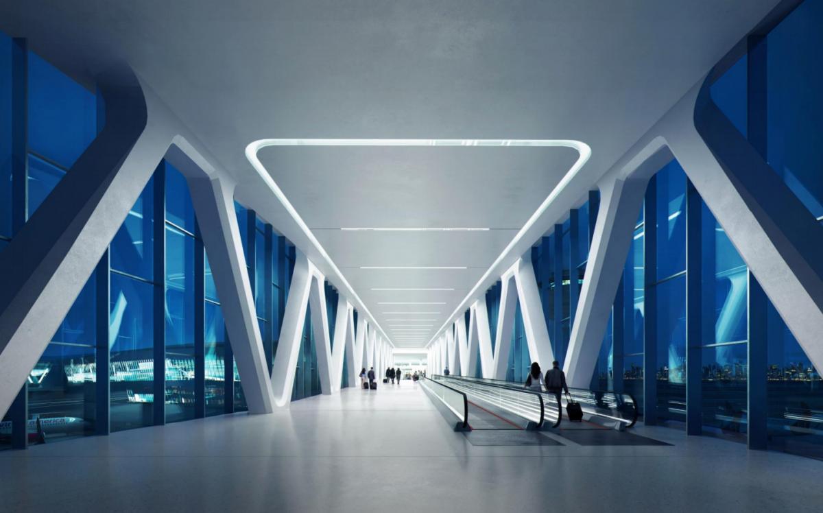 Un decálogo futurista de cómo serán los aeropuertos en los siguientes años