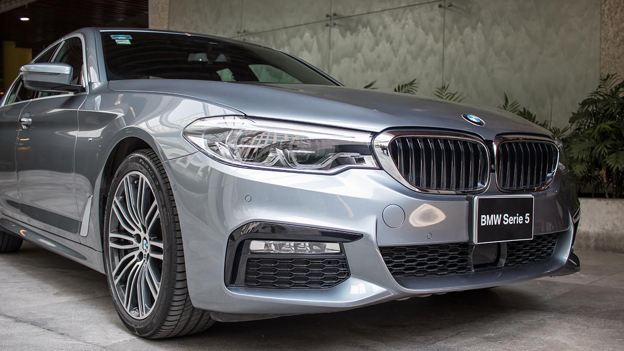 Los atributos del nuevo serie 5 de BMW: Semi-autónomo