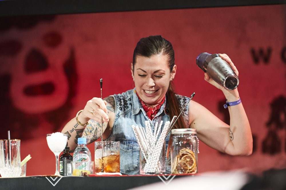 Resultado de imagen para Kaitlyn Stewart  WORLD CLASS Bartender of the Year 2017