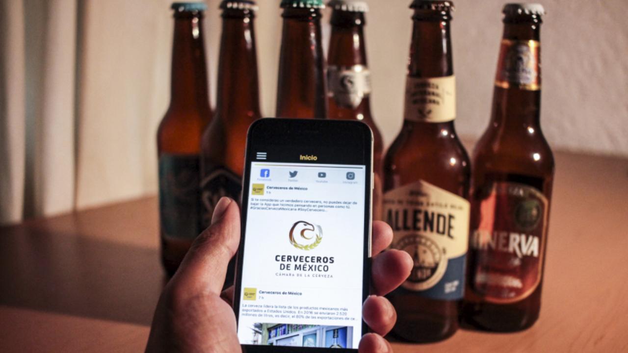 Para los amantes de la cerveza existe una APP exclusiva