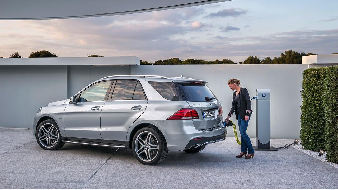GLE 500 e: la SUV de Mercedes-Benz con propulsión híbrida enchufable
