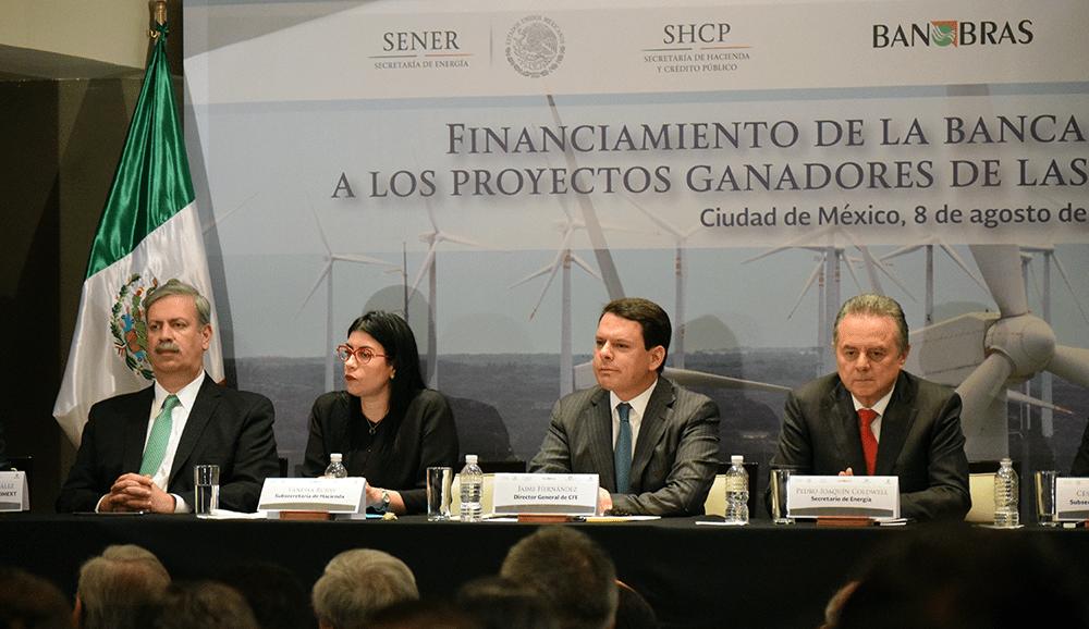 El gobierno financiará parques eólicos en Tamaulipas y Nuevo León