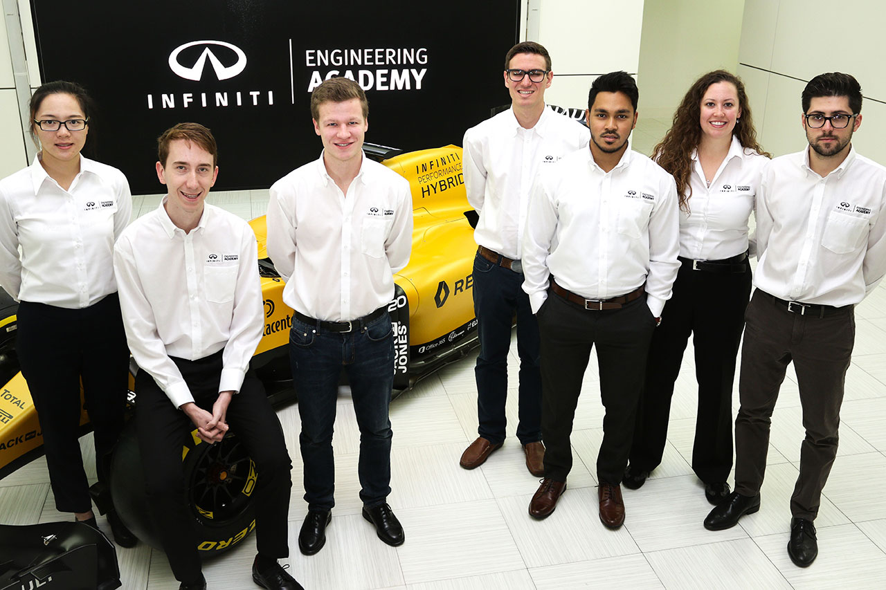 Infiniti busca a 7 ingenieros para darles empleo