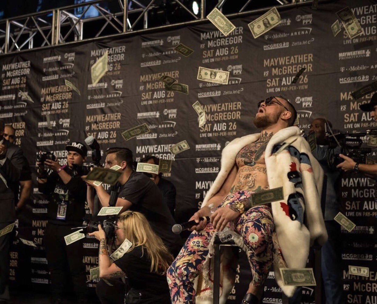 Conor McGregor asegura que ganará 100 mdd en The Money Fight
