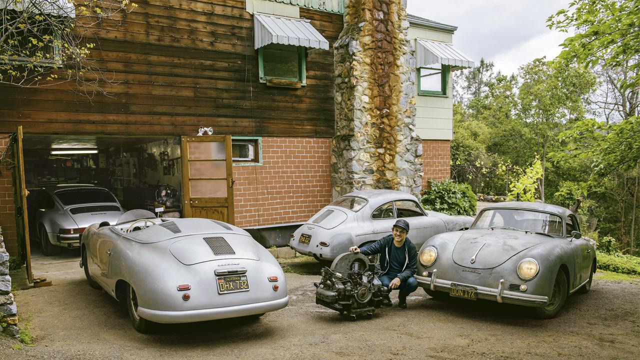 Conoce al coleccionista de Porsches oxidados