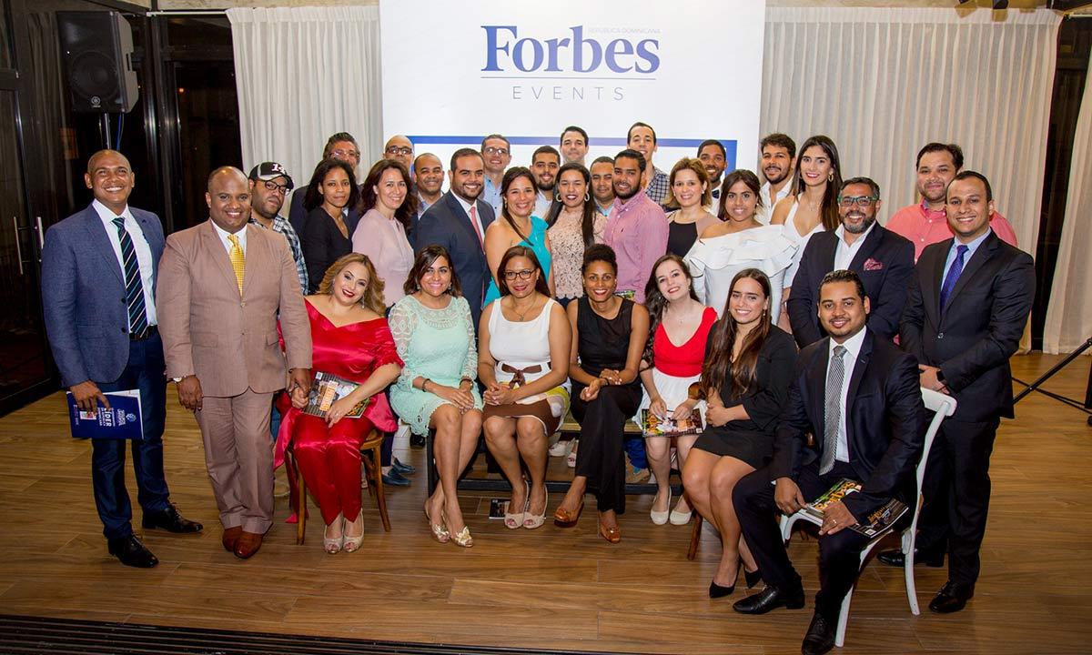Forbes RD presenta su lista 30 Promesas de Negocios 2017