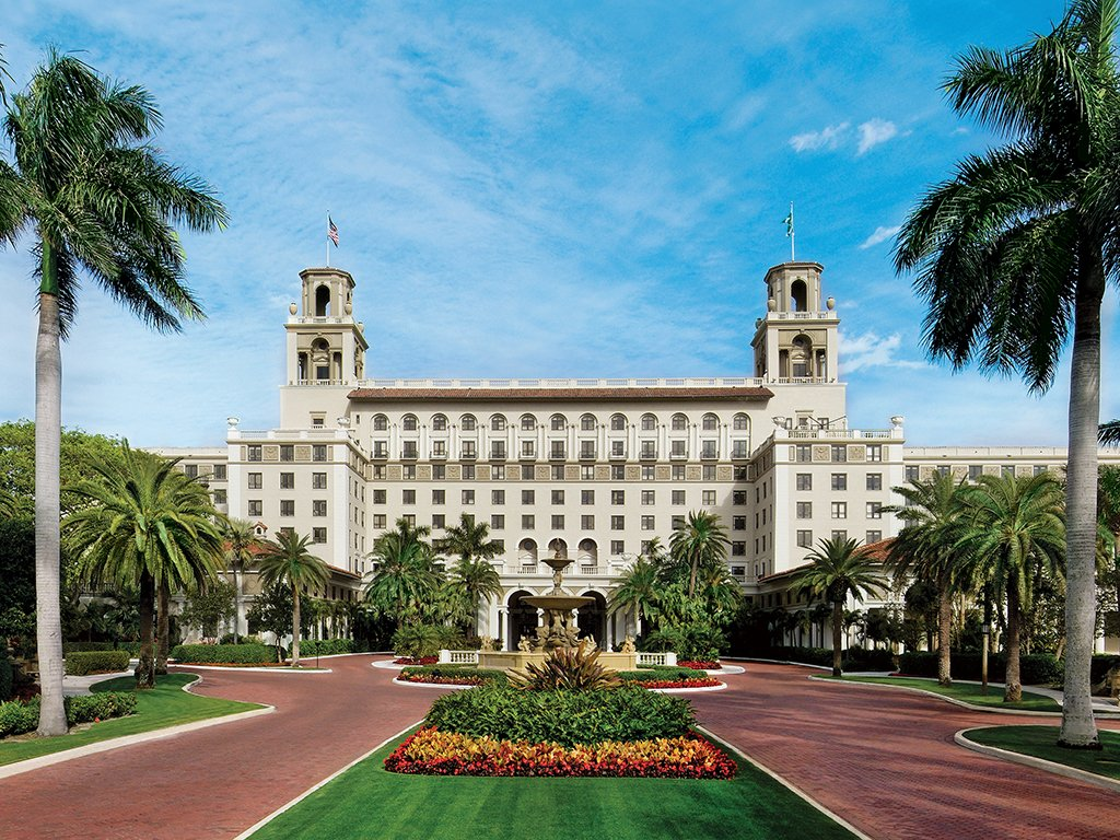 El hotel más opulento y con la mejor reputación de Palm Beach