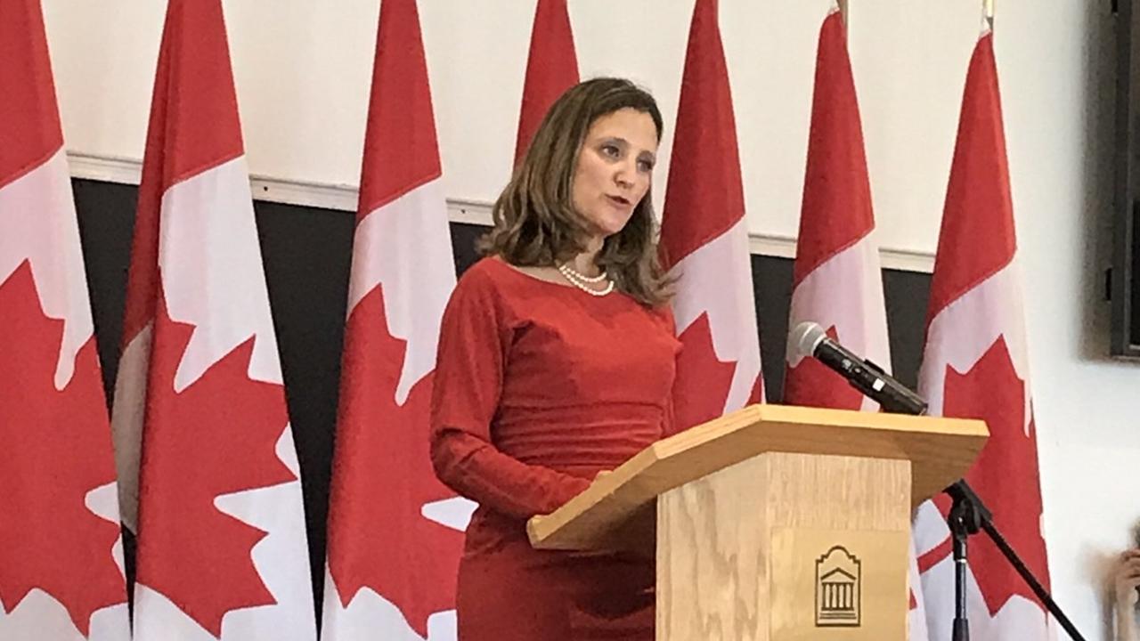 Canadá reitera a Estados Unidos su rechazo a los aranceles al acero