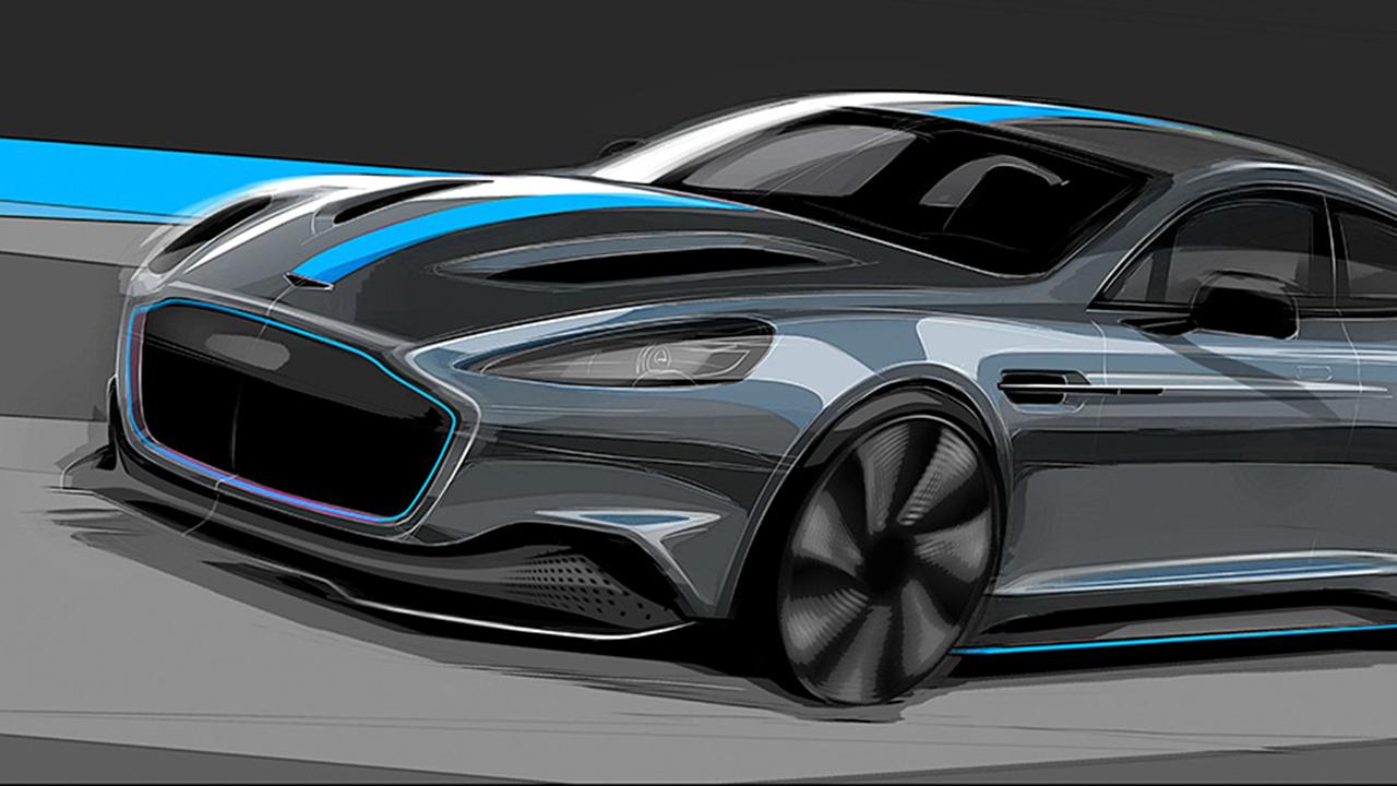 El nuevo RapidE de Aston Martin, una apuesta por el futuro sostenible
