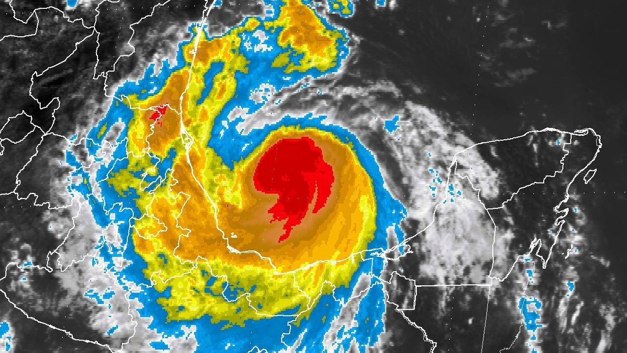 'Franklin' ya es huracán; impactará en Veracruz en la noche