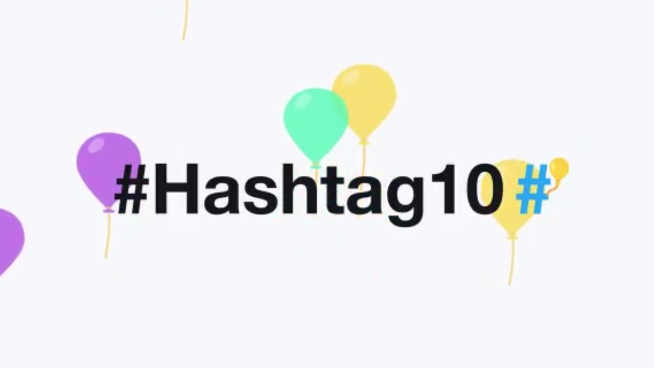 El #hashtag cumple 10 años de vida en las redes sociales