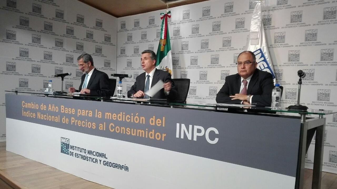 Inegi cambiará en 2018 metodología para medir la inflación