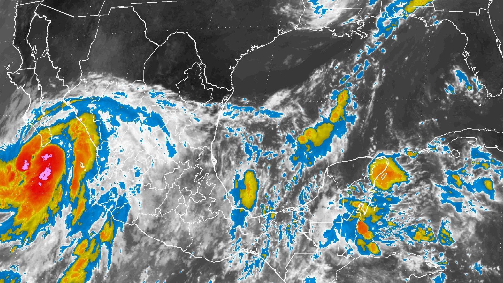 Lluvias continuarán este sábado en la mayor parte del país