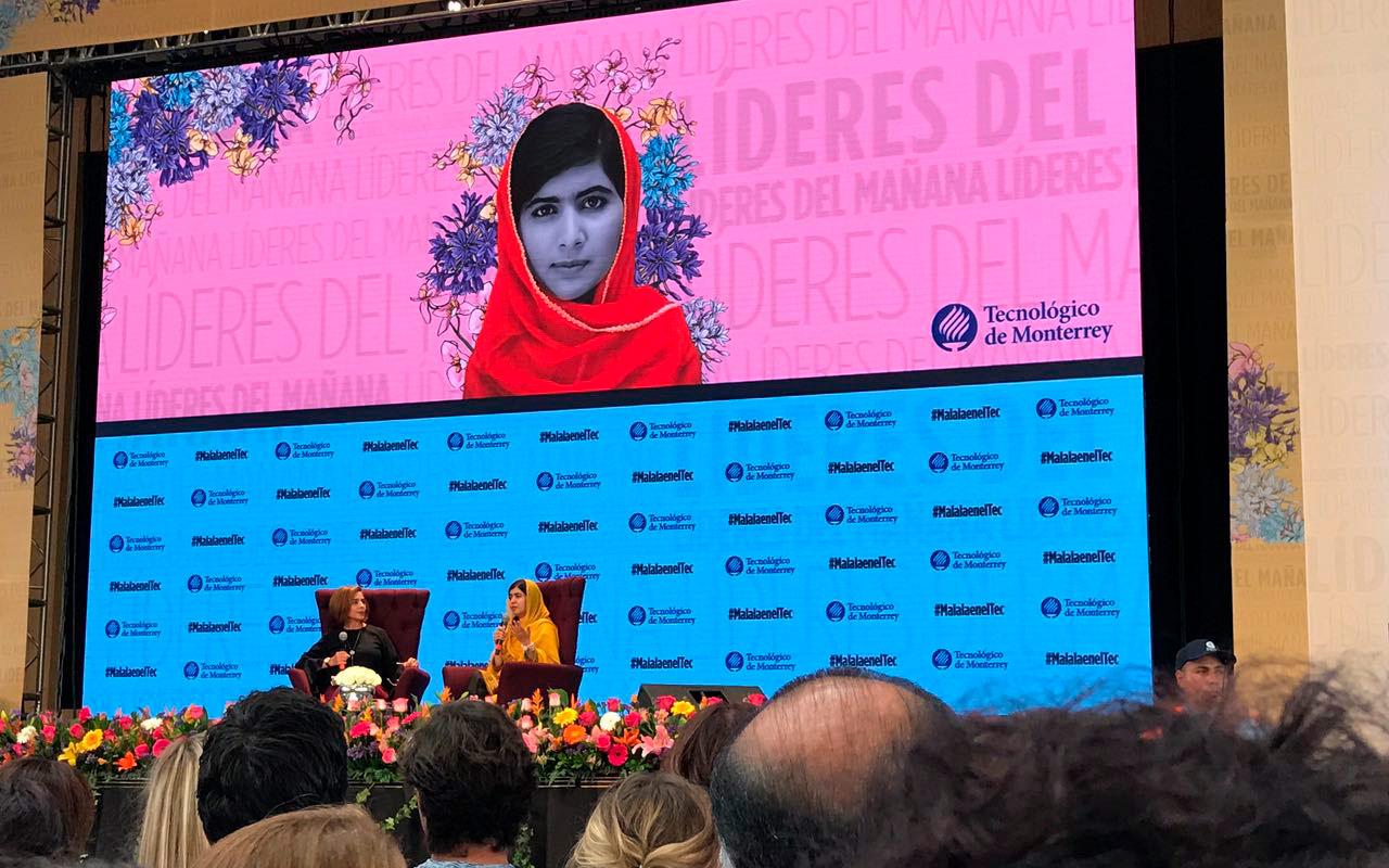 Los gobiernos no van a hacer nada por ustedes: Malala