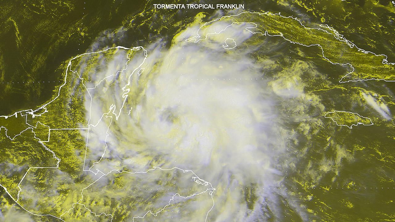 Saldo blanco en Quintana Roo tras el paso de 'Franklin'