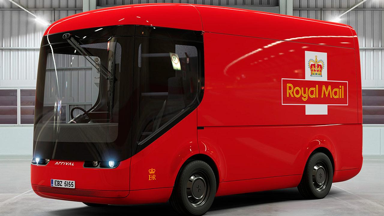 Éste es el nuevo vehículo eléctrico del servicio postal británico