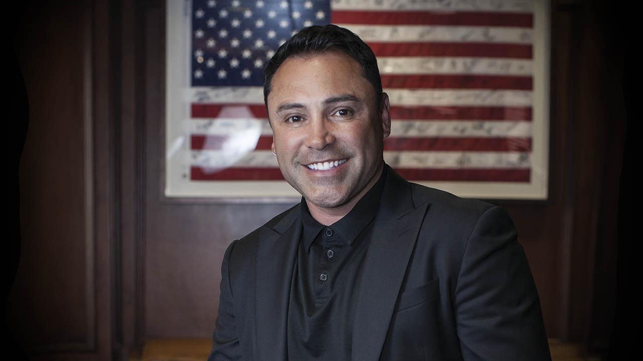 Óscar de la Hoya quiere ser presidente de Estados Unidos