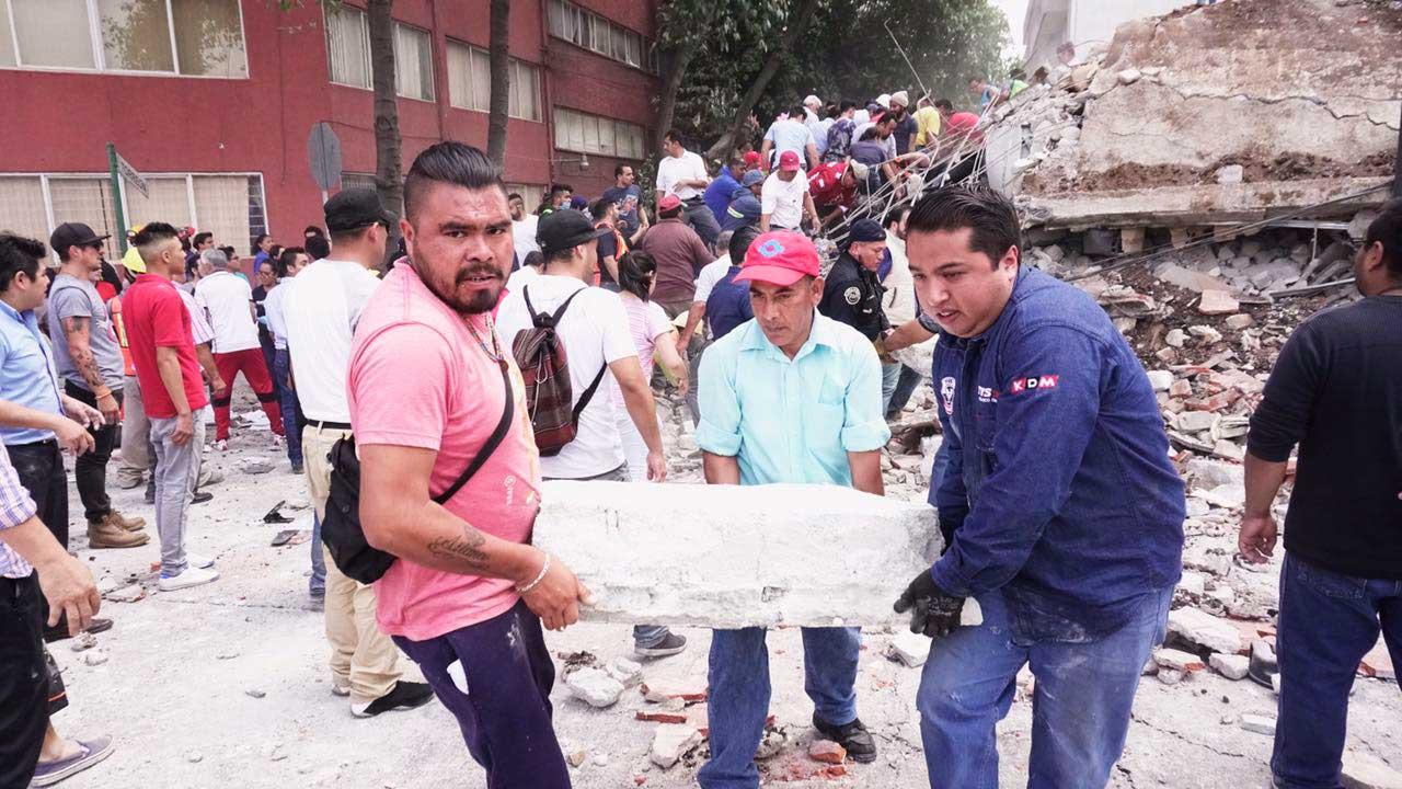 Líderes mundiales expresan apoyo a México tras el temblor