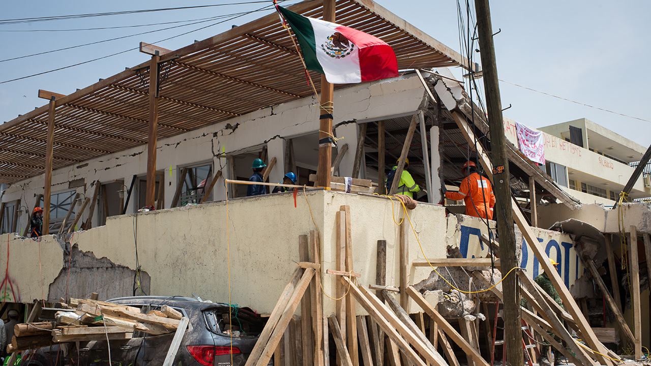 Unidos por la salud mental de los afectados por el sismo