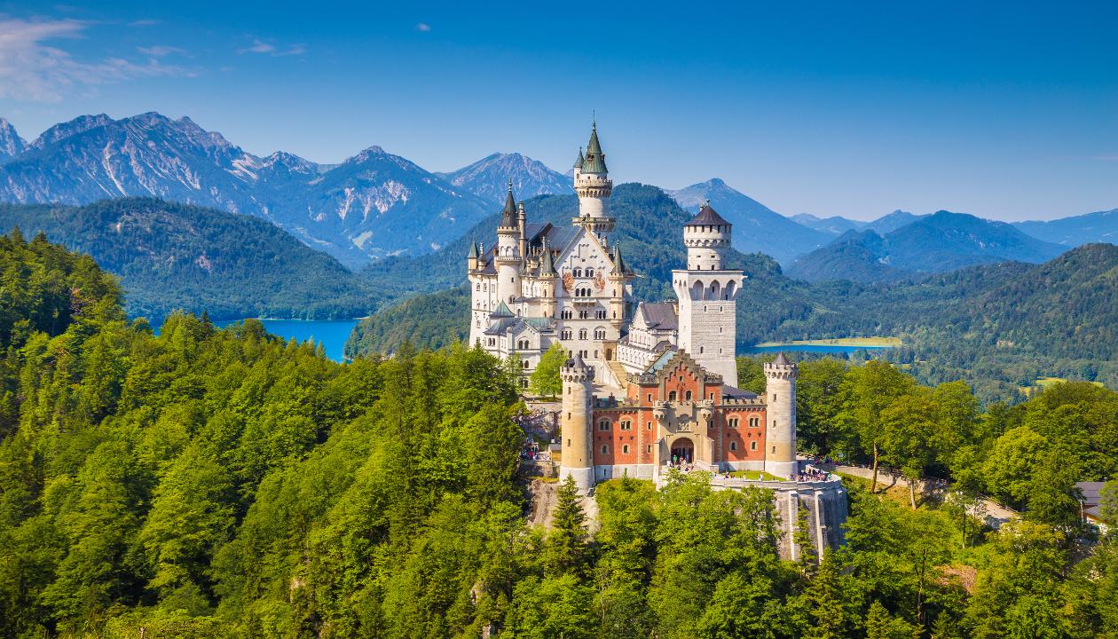 La ciudad de Munich, mágica por sus castillos.