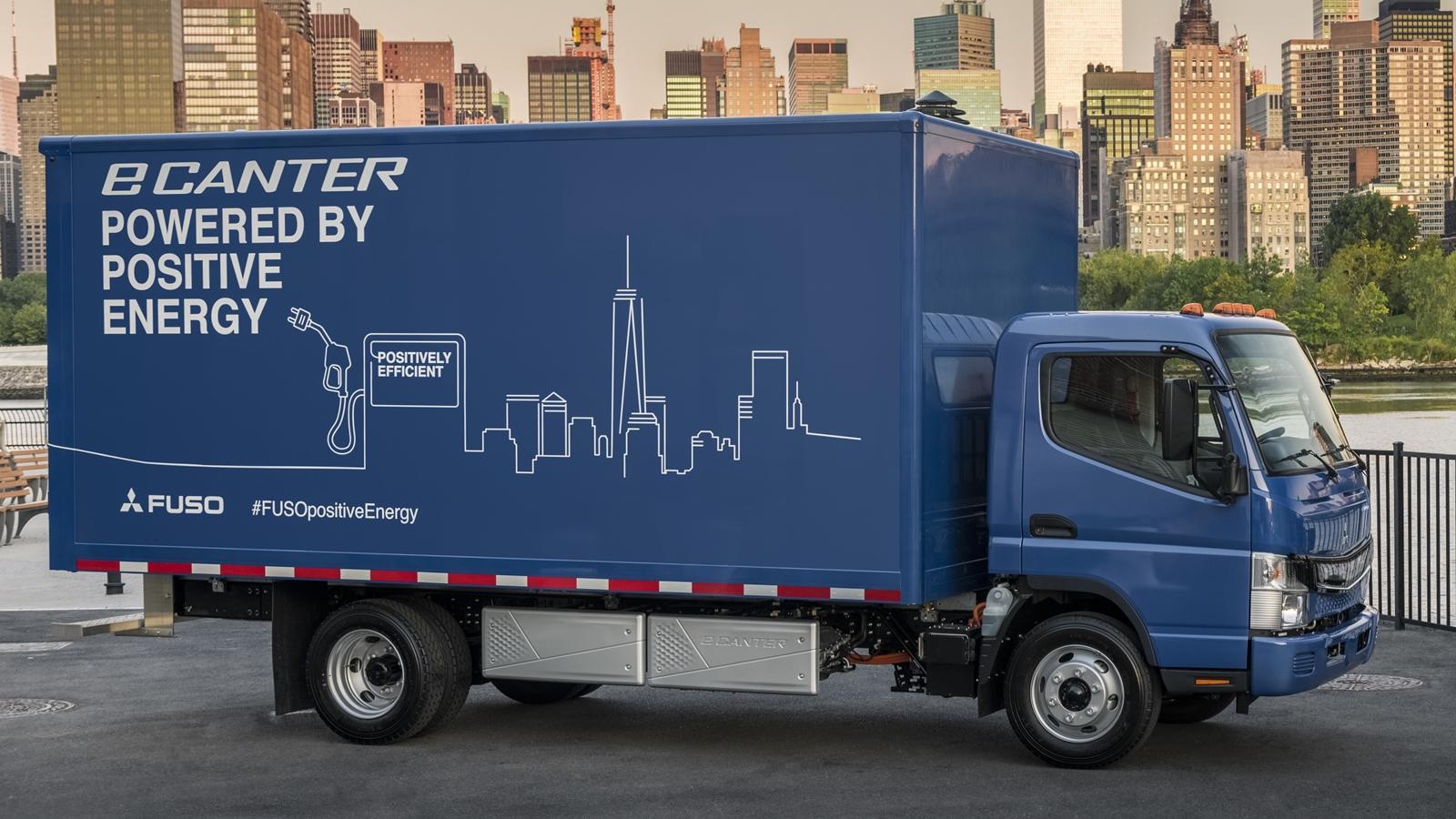 UPS será el primer cliente de los camiones eléctricos de Daimler