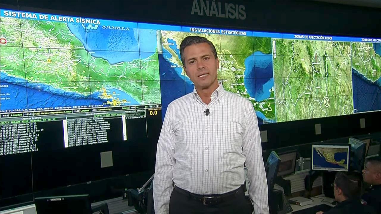 EPN delinea plan de acción para reconstrucción tras sismo