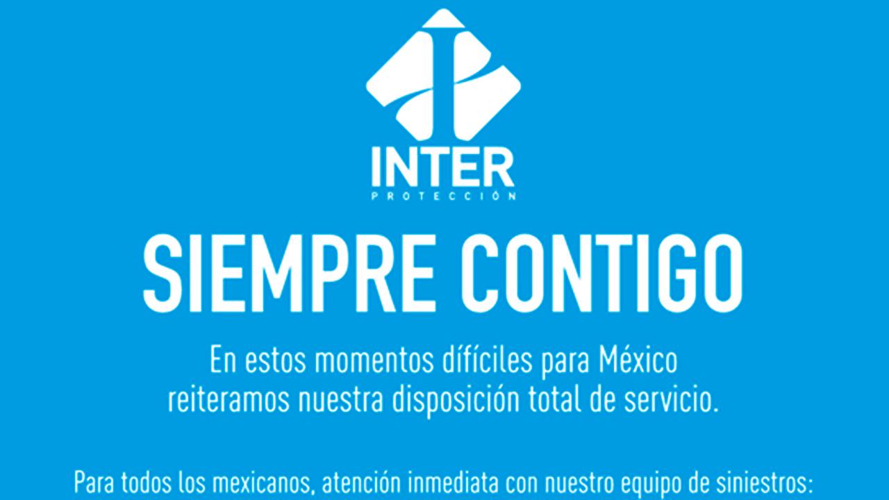 INTERprotección se suma a labores de ayuda tras sismo