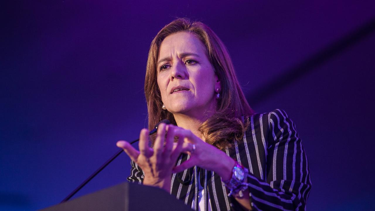 Prefiero crecimiento económico que recaudación de impuestos: Margarita Zavala