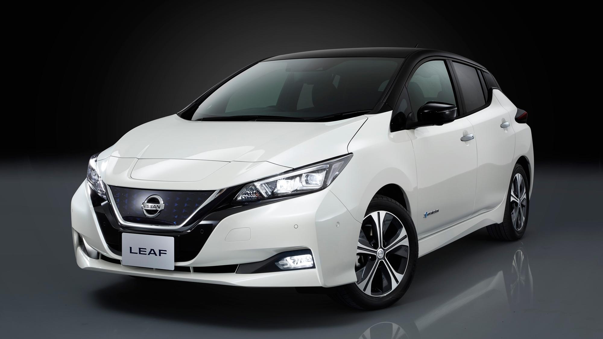 Nissan evoluciona su auto eléctrico Leaf