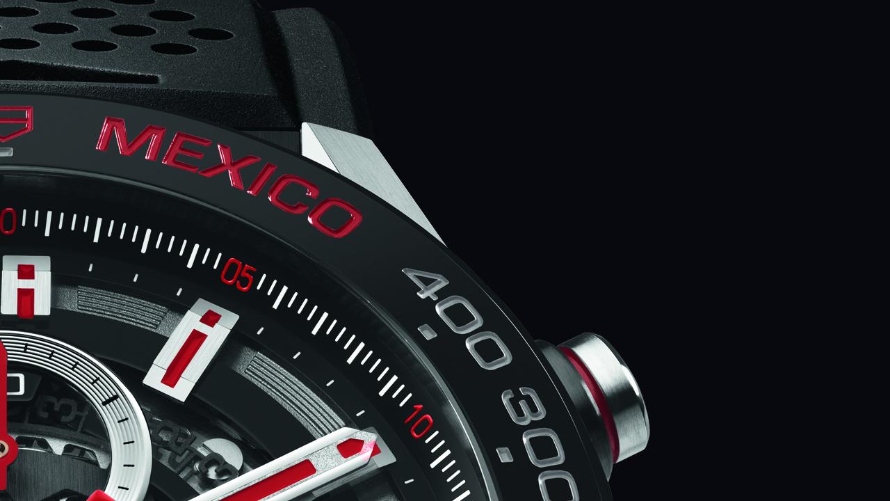 TAG Heuer creó este reloj exclusivamente para México