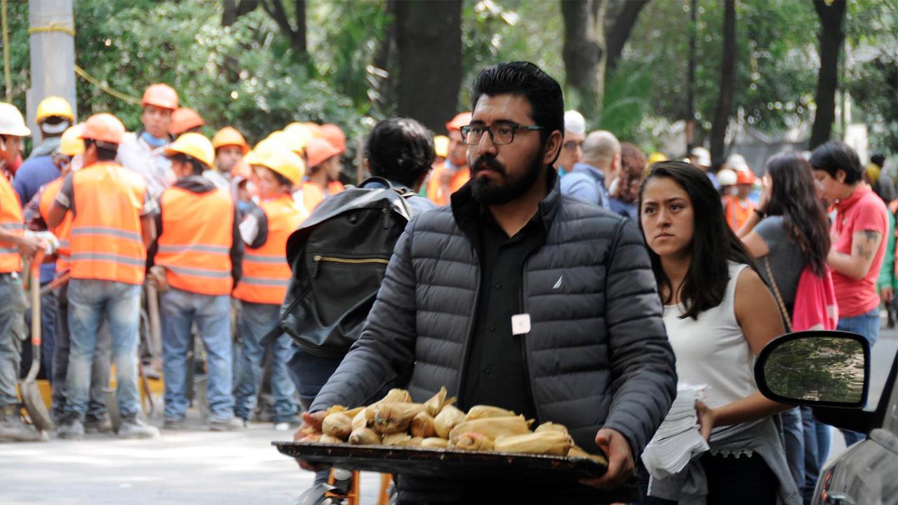 El minuto a minuto del día de un voluntario #FuerzaMéxico