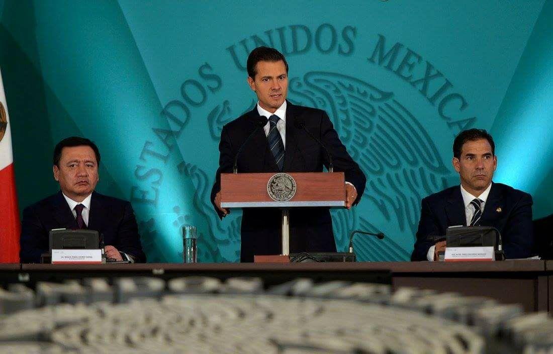 Enrique Peña Nieto emite su V Informe de Gobierno