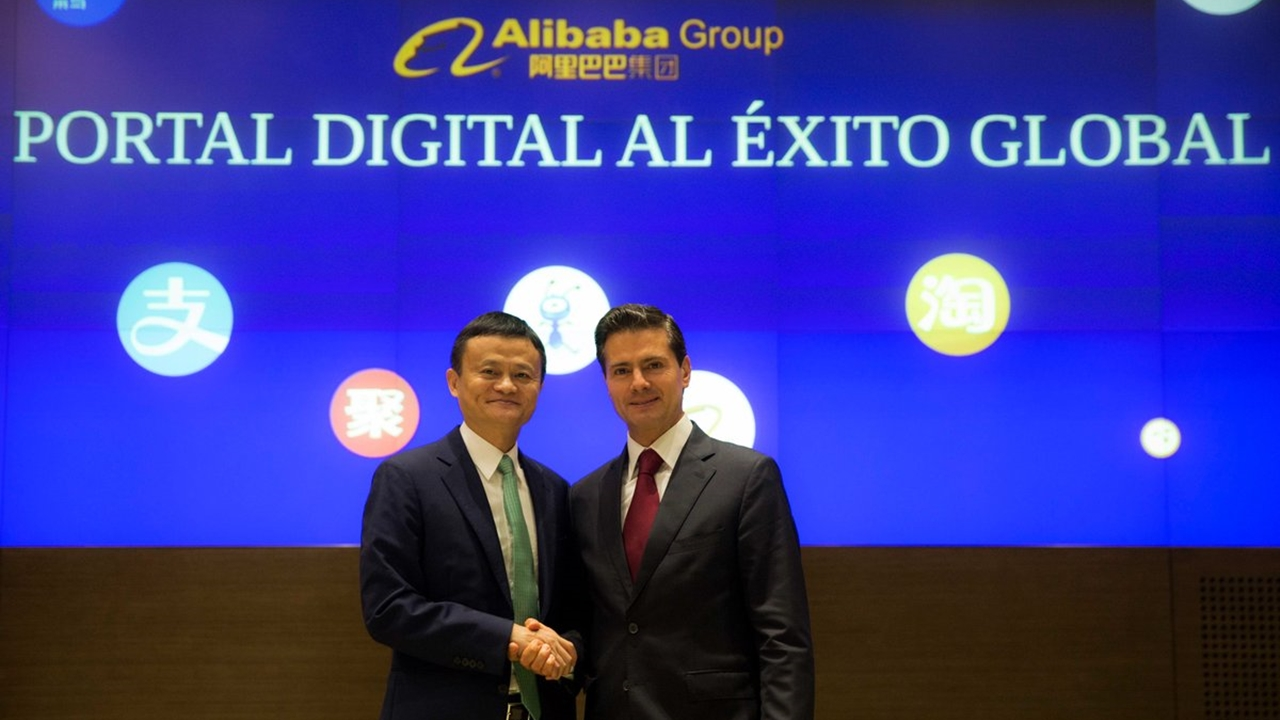 alibaba-Peña-Jack Ma