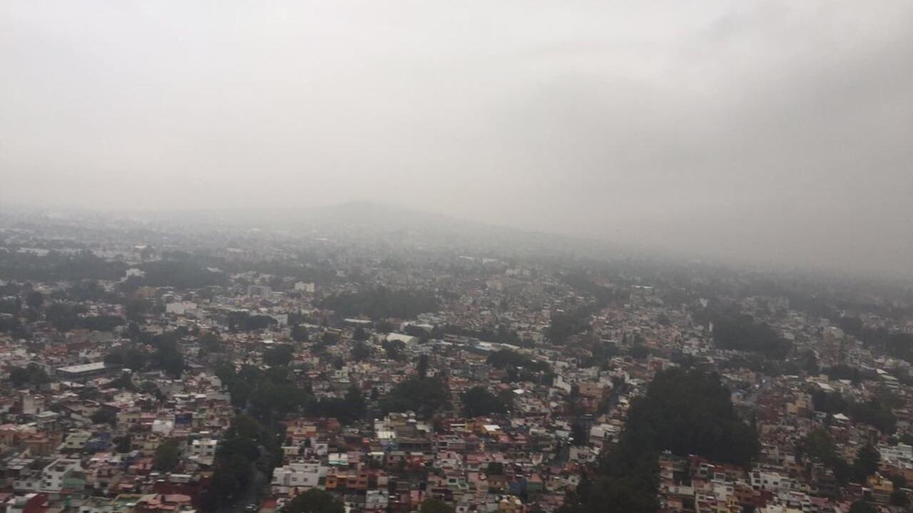 cdmx nublada-tormentas-lluvia