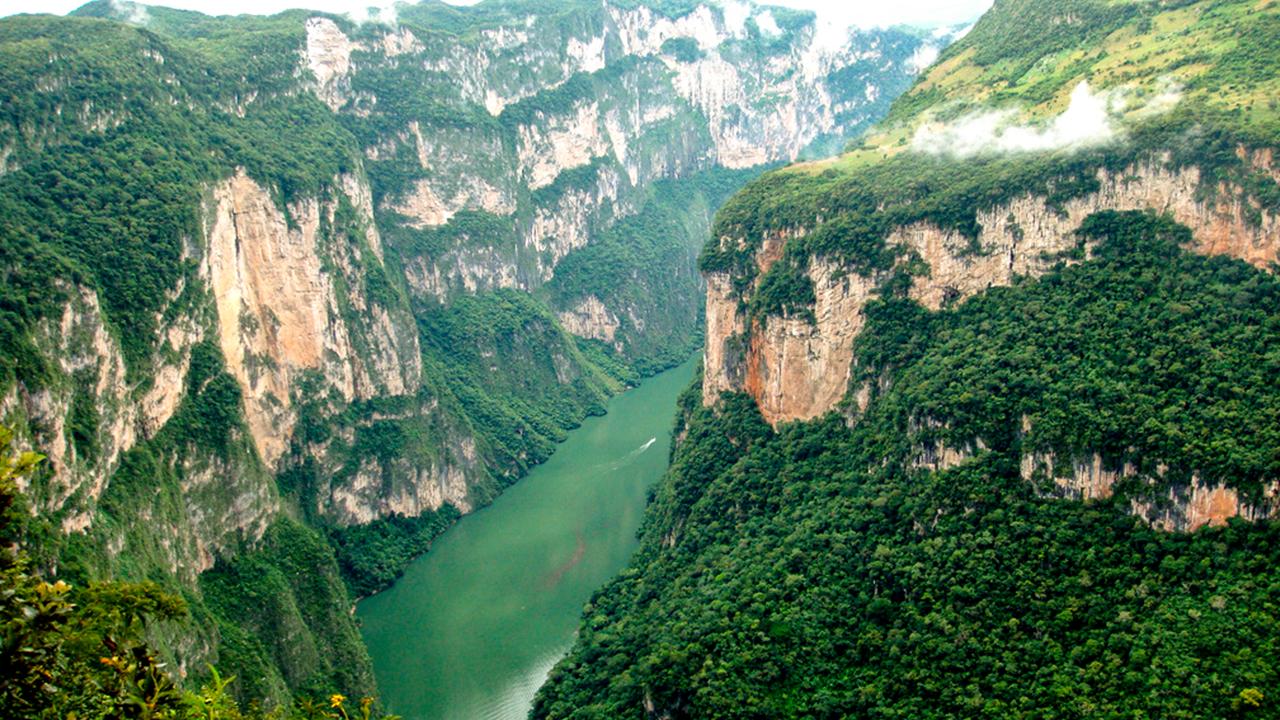 Descubre los sitios icónicos de belleza natural de Chiapas