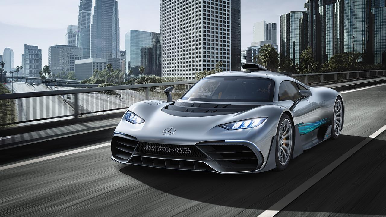 Mercedes-Benz ya tiene su propia versión de un Fórmula 1 para la ciudad
