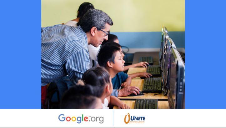 Google y UNETE capacitarán a maestros mexicanos