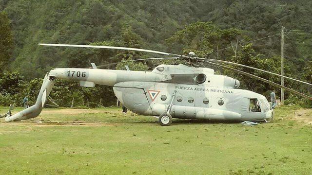 helicoptero sedena