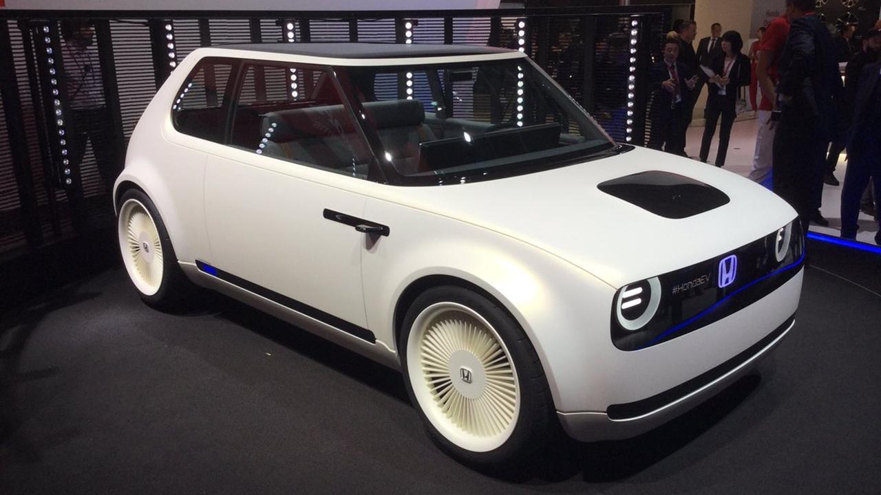 Así es el auto que guiará los vehículos eléctricos de Honda