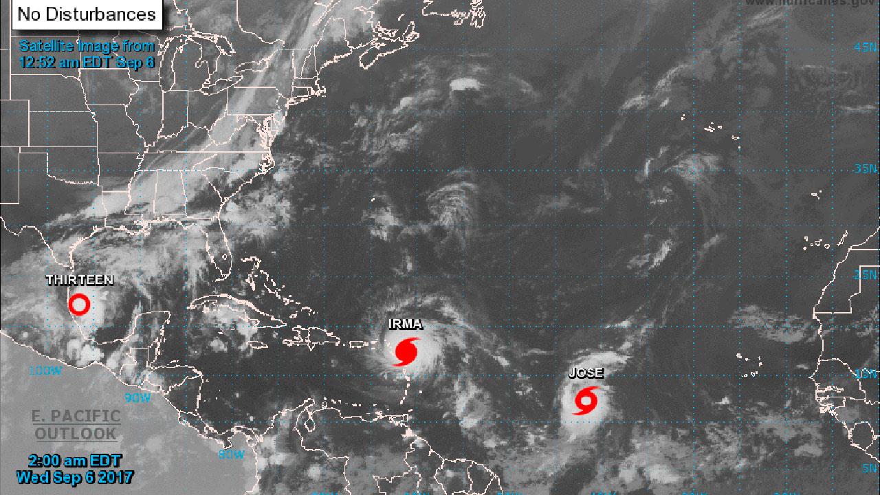 Irma ya es el huracán más poderoso en la historia del Atlántico