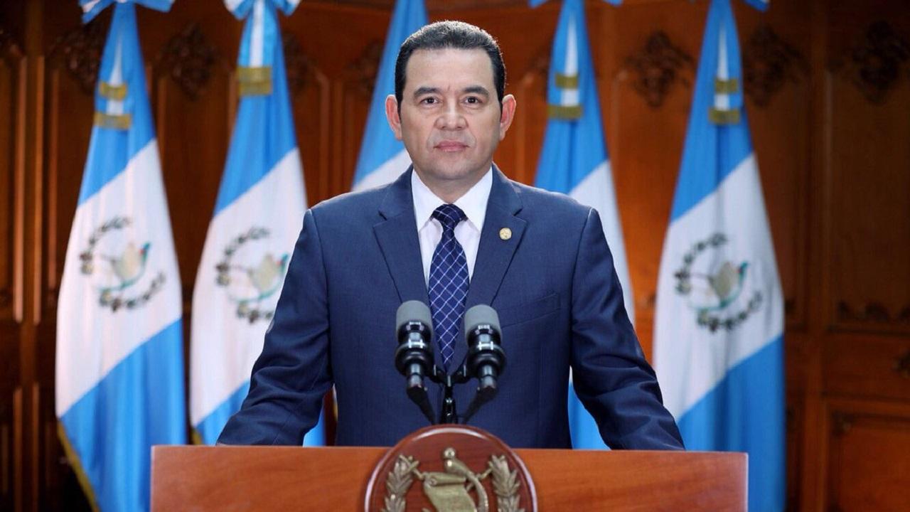 """Jimmy Morales pide a OEA un """"acompañamiento cercano"""" en próximas elecciones"""
