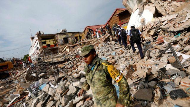 Suspenden clases en la CDMX por sismo