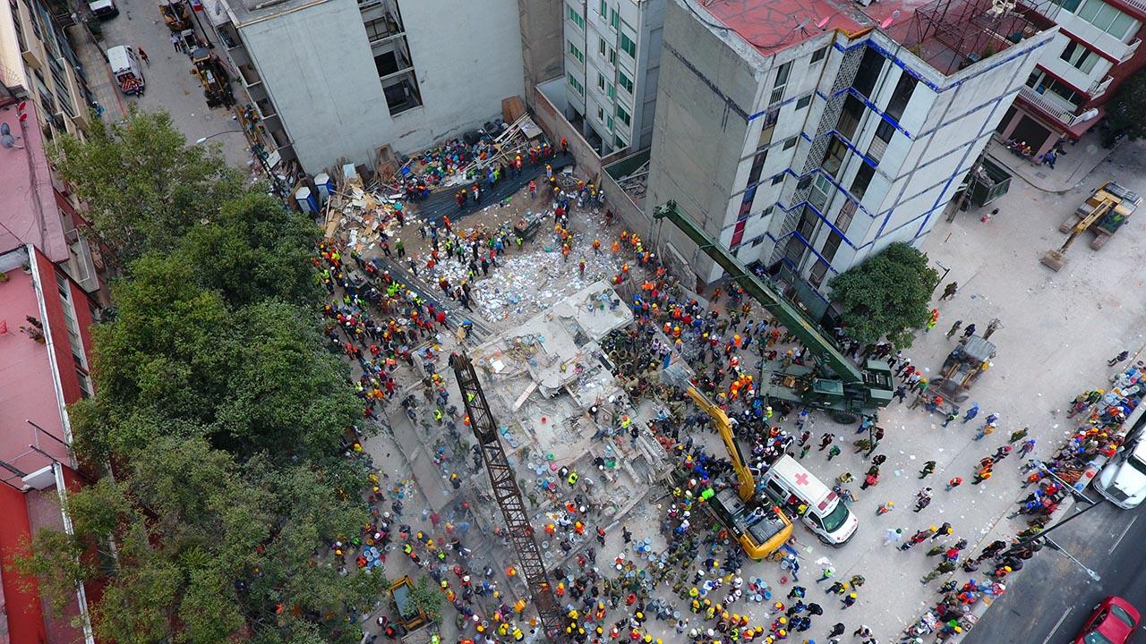 Edificio de Lindavista será el primero en reconstruirse tras el sismo