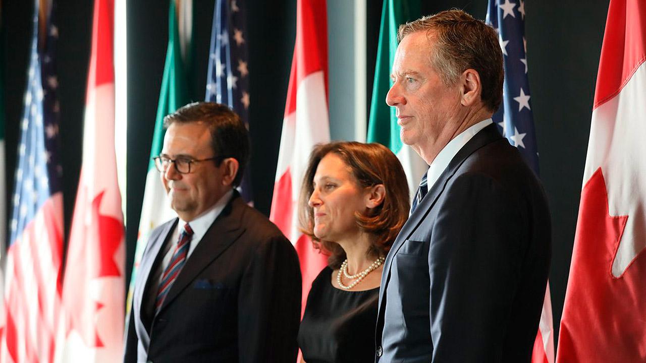 Ministros negociadores buscarán avanzar en el TLCAN