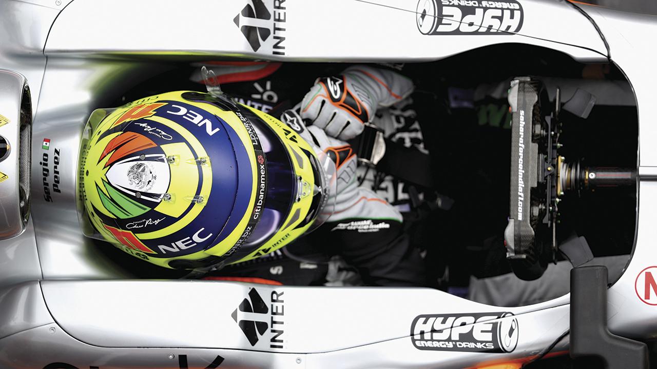 Los patrocinios corren también en las pistas de la F1