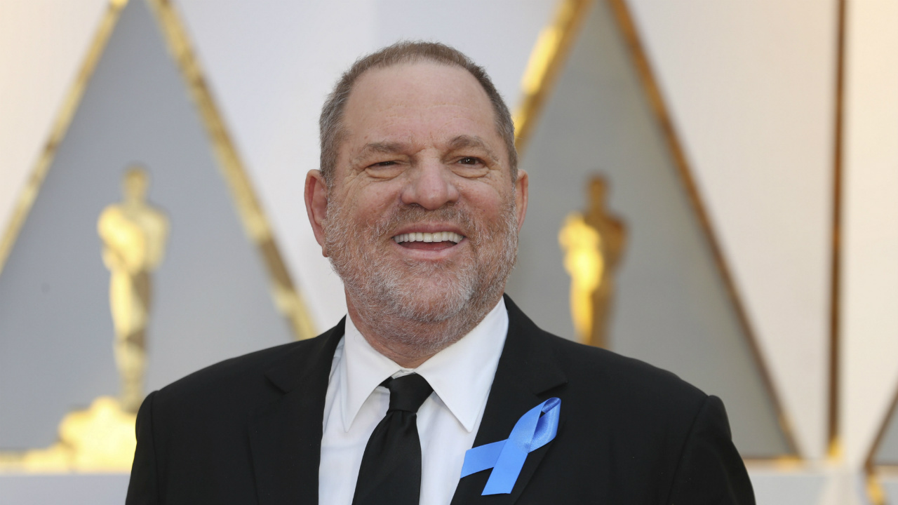 Academia Cinematográfica expulsa a Harvey Weinstein