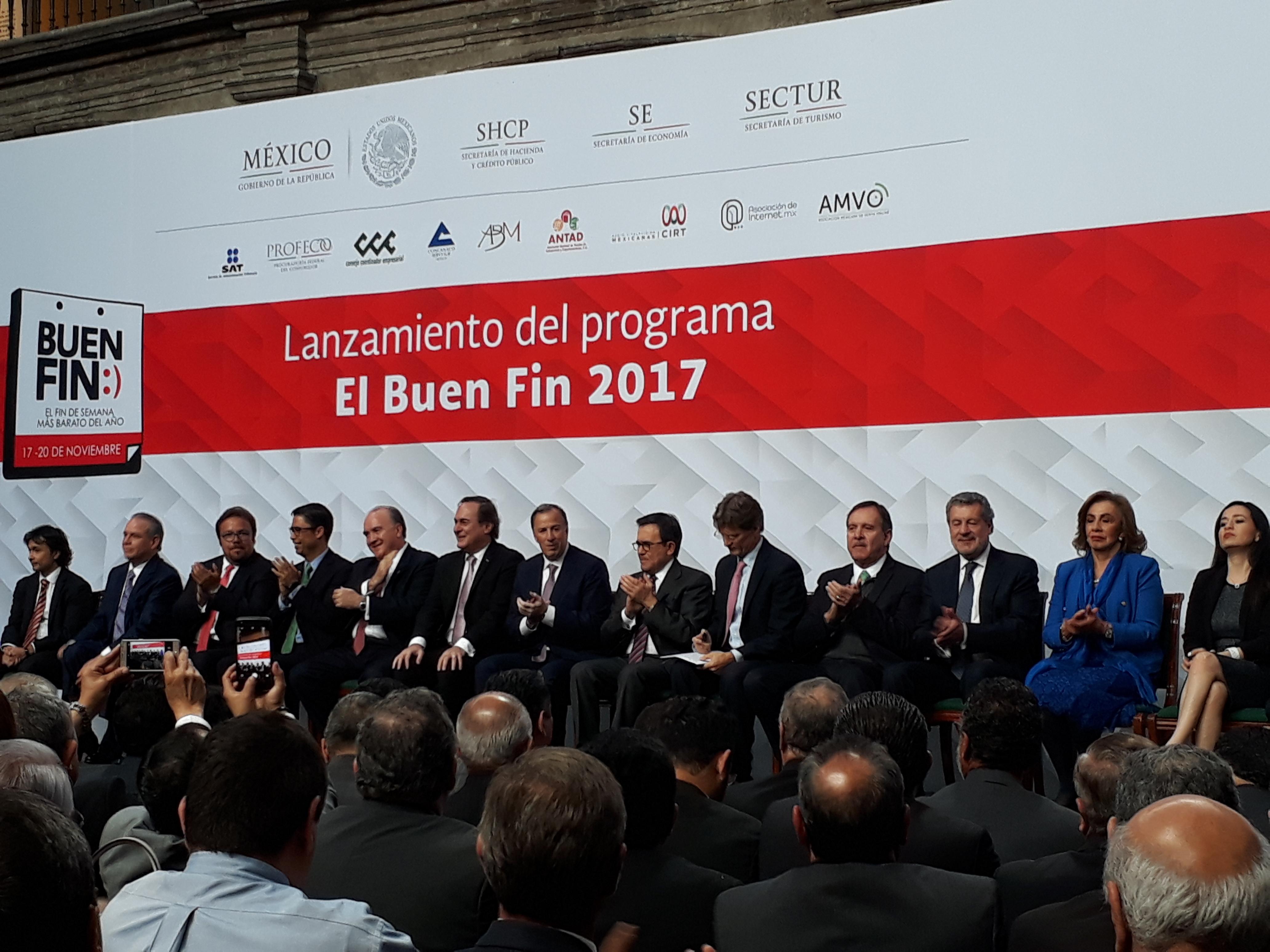 Buen Fin busca reactivar economía mexicana después de sismos