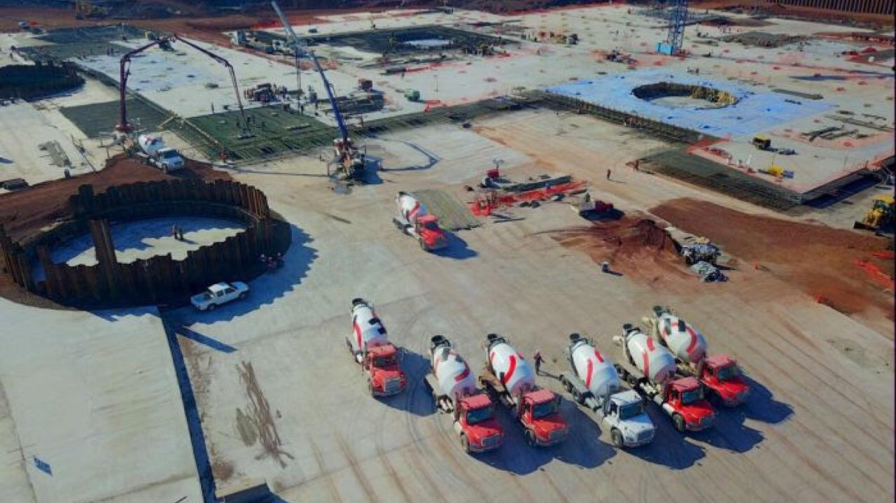 Holcim suministra concreto para primera fase de NAICM
