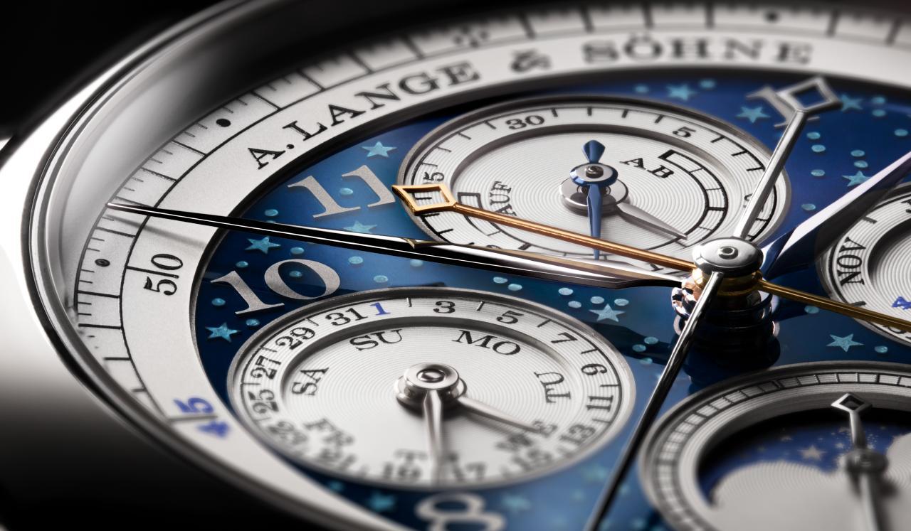 A. Lange & Söhne inmacula el tiempo con 1815 Ratrapante Calendario Perpetuo