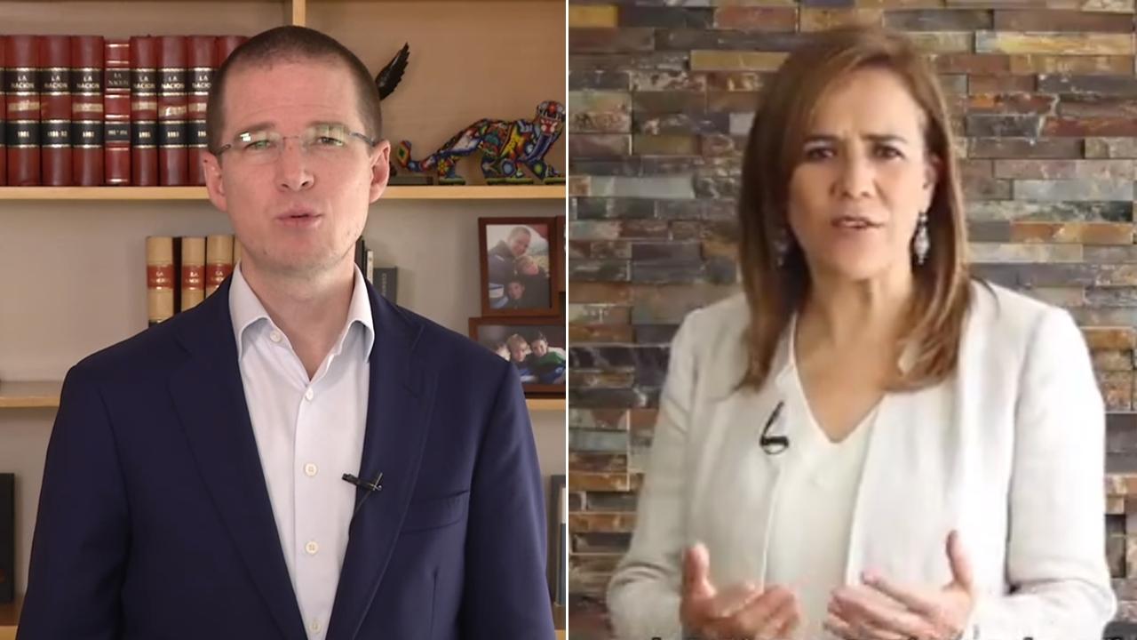 Ricardo Anaya reconoce la 'valentía' de Margarita Zavala